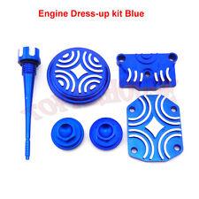 Blue Engine Dress Up Kit Fit Lifan YX Zongshen 110cc 125cc Pit Dirt Bike