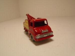 Matchbox Lesney #13C Restored/Modified Thames Wreck Truck Grey Plastic Wheels!NM