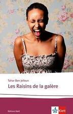 Tahar Ben Jelloun Les Raisins de la galère 1x gelesen wie neu