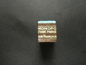 Rare Vintage Monopole De La Saint-Martin Pool Billiard Chalk
