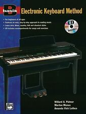 BASIX Electronic Keyboard Method Book & CD *NEW* Music