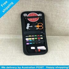 Travel Portable Sewing Kit Thread Needles Pins Measure Tape Scissor Storage Bag