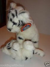 WHITE SIBERIAN TIGER & PLAYFUL BABY  CUB BARNUM & BAILEY RINGLING BROTHERS