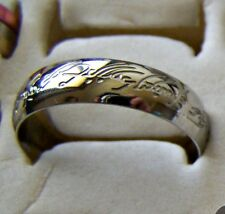 SILVER ~ SIZE:12 ~ LORD_OF_THE_RINGS ~~S/STEEL ~ RING -- (GREAT_ GIFT