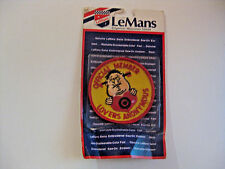 NOS VINTAGE MEMBER LOVERS ANONYMOUS MOTORCYCLE / AUTO UN SEWN CLOTH PATCH