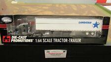 DCP #32537 Landstar System inc. FREIGHTLINER SEMI TRUCK DRY VAN TRAILER 1:64/ FC