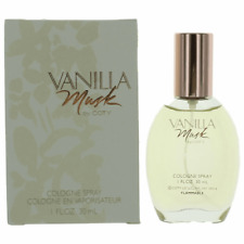 VANILLA MUSK BY COTY COLOGNE SPRAY 1.0 oz / 30ml FOR WOMEN BRAND NEW