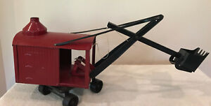 Vintage RARE Great Condition; 1920s Steelcraft MARION Pressed Steel STEAM SHOVEL