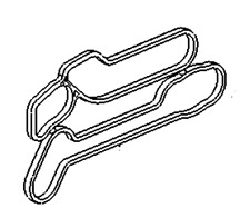 VAUXHALL GASKET - GENUINE NEW - 55354071