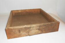 Alte Holz Schublade 39,5 x 44 x 9 cm Industrie Werkstatt Design Loft Vintage !