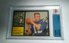 1962 Topps Johnny Unitas Authentic altered