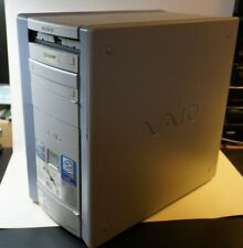 Sony VAIO PC Desktop Computer PCV-RX550 Model 7732 w/ Extra Drive Mouse Speakers