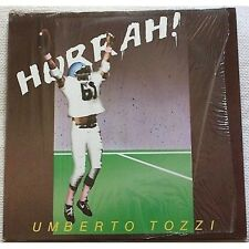 UMBERTO TOZZI - Hurrah! - LP VINYL 1984 NEAR MINT COVER VG+ CONDITION UNPLAYED