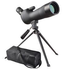 20-60x60mm Waterproof Nitrogen filled FMC Spotting Scope Monocular Telescope
