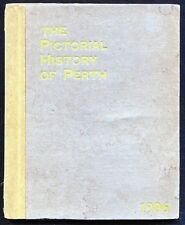 Antique 1906 Pictorial History of Perth, Illustrated, 42 Pages