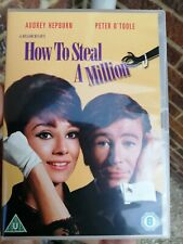 How to Steal a Million DVD (2012) Audrey Hepburn, Wyler (DIR) cert U FREEPOST