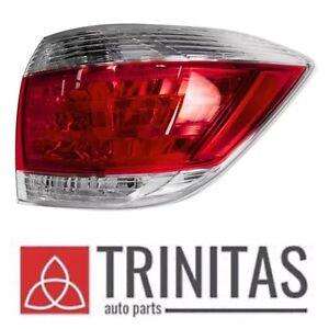 For Tail Light Lamp 2011-2013 Toyota Highlander Passenger Right RH