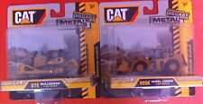 CAT Bulldozer 1:83 scale & Wheel Loader 1:94 scale Metal Machines