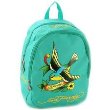Ed Hardy Misha Spring Sparrow Backpack - Turquoise