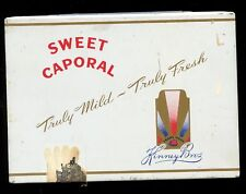 VINTAGE - SWEET CAPORAL- CIGARETTES- IMPERIAL TOBACCO - CANADA - Flat 50 TIN # 1