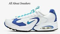 "Nike Air Max Triax 96 ""White/Newport Blue/Black"" Women's Limited Stock All Sizes"