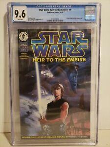 Star Wars: Heir to the Empire #1 CGC 9.6 1st Admiral Thrawn Mara Jade Cassian