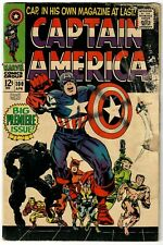 Captain America (1968) #100 White Logo Variant Black Panther Zemo Kirby Lee GD-