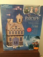 Rudolph The Red-Nosed Reindeer Island Misfit Toys Santas Castle Playset 2001