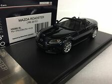1/43 HI STORY HS086BL MAZDA ROADSTER NC 2013 RS MX5 MIATA BLUE resin model car