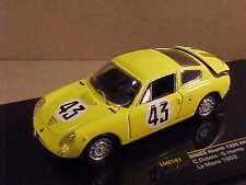 Ixo 1/43 Moulage sous Pression Simca Abarth 1300,1962 Mans,#43,Dubois & Harris #