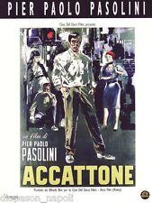 Accattone Regia di Pier Paolo Pasolini - dvd