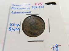 New ListingH25 Roman Empire Maximianus 286-305 Ad Ae Antoninianus