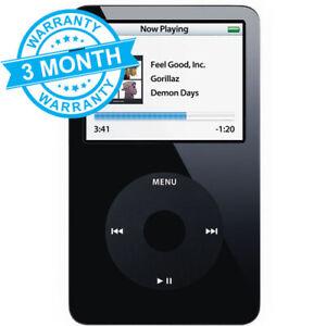 Apple iPod Classic 5th Gen Black (30GB) **3 MONTH WARRANTY**