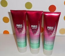 Bath & Body Works Paris Amour Shimmer Body Cream X 3 NEW DISCONTINUED