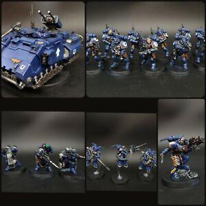 Games Workshop Warhammer 40K Combat Patrol: Deathwatch Miniatures pro painted