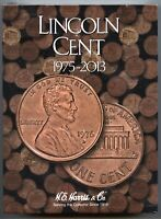 Coin Folder - Lincoln Cent 1975 to 2013 Penny Set - Harris Album 2674 Pennies