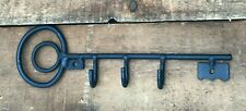 Rustic Metal Key Holder for Wall Rack Hanger Wrought Iron Amish Made Organizer