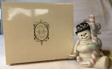 Lenox Classics 2004, Candy Cane Christmas, Snowman