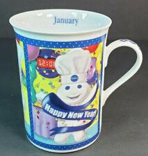 Pillsbury Doughboy January New Year's Celebration Collector Mug Danbury Mint