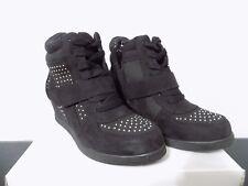 Steve Madden JGLAMM Black  Bootie Womens Sz 5Y Medium NIB side zip up bling