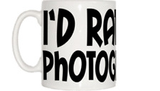I'd Rather Be Photographing Mug