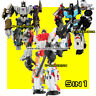 Transformers G1 5in1 Bruticus Defensor Autobot IDW Robot Action Figure Kids Toys