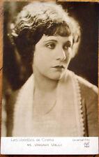 1930s Realphoto Movie Star Postcard: Actress, Virginia Valli