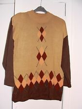 Dressy sweater in autumn shades Free size