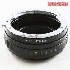 Macro Tilt Canon EOS EF Lens to Canon EOS Mount Adapter 5D II III 60D 650D 700D