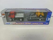 Welly Mercedes Benz Unimog U400 Red 1:43 Scale