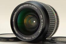 [Exc+++++] Minolta MC W Rokkor 28mm F2 MF Lens from Japan #212