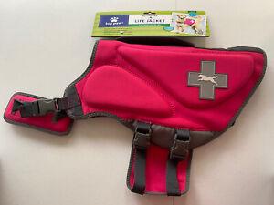 Neoprene Dog Life Jacket by TOP PAW Pink Sz L (55-85lbs) NWT