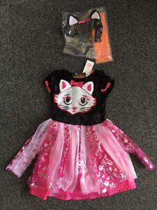 Halloween Devilish Cute Cat Headband Baby Toddlers Girls NEW H16
