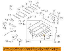 PORSCHE OEM 08-10 Cayenne Sunroof-Seal Kit 95556291700
